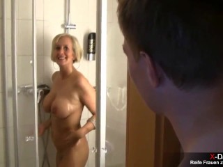 Porn with sexy mom