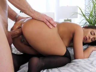 Hairy milf and boy first anal
