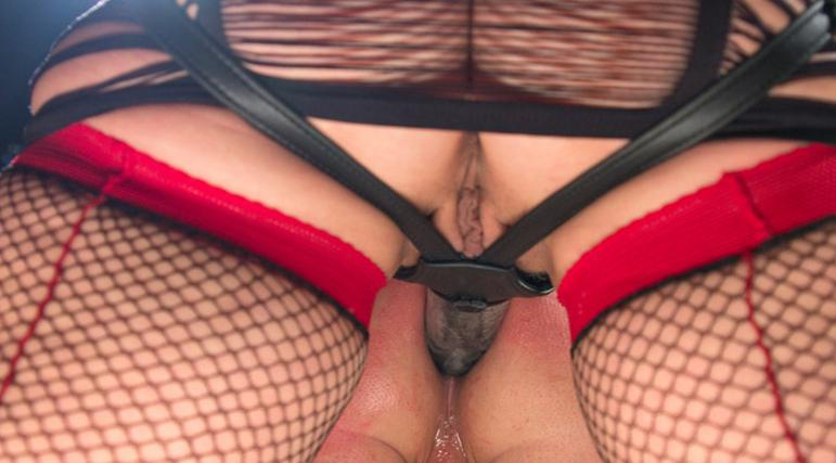 orgasm on stockings
